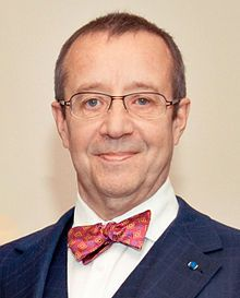 Toomas Hendrik Ilves 4th President of Estonia