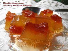 Tante Kiki: Γλυκό κουταλιού καρπούζι δίχρωμο και χωρίς ασβέστη