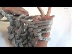 PLETEME RUKAMA | Knitting hands only - YouTube