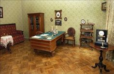 Literary Tours: Around the City with a Book in Mind -- the writing desk of Russia's great poet and story teller, Alexander Pushkin, author of the fated Eugene Onegin. Eugene Onegin, Alexander Pushkin, Literary Travel, Memorial Museum, Travel And Tourism, Tours, History, Artist, Room