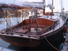 #Hispaniola, sailboat, Fogg's woodworking genius at it's best!