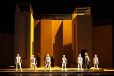 Aida from Bayerische Staatsoper München. Production by Christof Nel. Sets by Jens Kilian.
