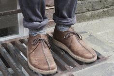 socks shoes rolled pants