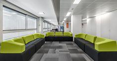 Meeting zone, Lenovo's office in Barcelona