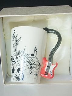 Musicals, Instruments, Trends, Mugs, Tableware, Winter, Tea Time, Guitar Neck, Music