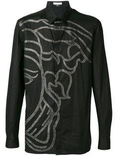 VERSACE COLLECTION VERSACE COLLECTION - MEDUSA PRINT BUTTON UP SHIRT .   versacecollection  cloth   eb5b4619c
