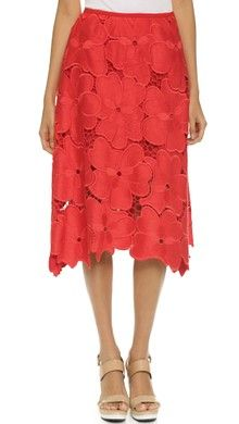Victoria Victoria Beckham Drawstring Skirt   SHOPBOP