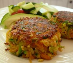 Halloumi and Courgette Herb Cakes: Gordon Ramsey's Recipe