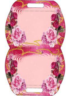 Caja almohada floral