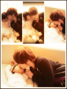 Why am I jealous of a 6-year-old? Cuz she gets to lip-lock with Jae!