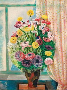 Moïse Kisling 1891-1953 (Polish, French) | Bouquet