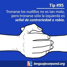 Tip 95: Una clave al tronar los nudillos