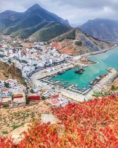 "MOROCCO / Maroc / TRAVEL en Instagram: ""Jebha 😯❤️ #northmorocco #inmorocco Follow us on @moroccohotels 📸 @s_smileph"" Morocco, Wanderlust, Water, Travel, Outdoor, Instagram, Water Water, Outdoors, Aqua"