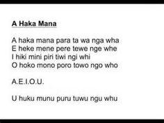 Maori Haka Words - Bing Images