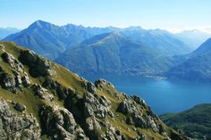 Randonnée sur le mont Grona sur les hauteurs du Lac de Come - Italie © Julien Paturaud