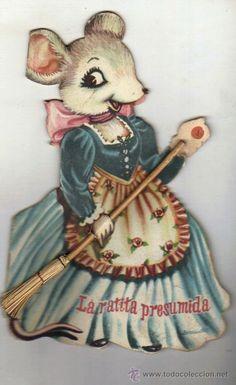 AÑOS 60 - *La ratita presumida* Cuento troquelado escrito e ilustrado por  Juan Ferrándiz | Foto 1