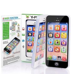 Y-Phone 5 5s Childrens Gift Learning Study Toy Mobile Phone Educational Toy XD #UNBrand
