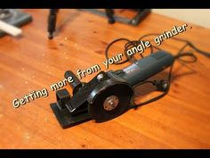Getting more from your angle grinder - YouTube