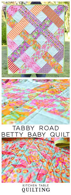 Tabby Road Betty Baby Quilt - Kitchen Table Quilting