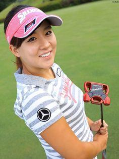Girls Golf, Ladies Golf, Girl Golf Outfit, Beautiful Athletes, Lpga, Great Women, Golfers, Korean, Sexy