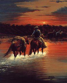 Horsehead Crossing, by Kenneth Wyatt