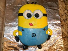 Despicable Me Minion Sheet Cake | So here it is... I love how it turned out!
