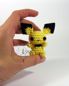 Little Pichu Amigurumi by LeFay00 on DeviantArt