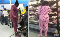 Do they pump some kind of funny air into Walmart or something? No wait...these people come from home like this. Wow.