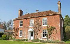 Dream home in West Sussex: A Grade II Georgian farmhouse on 2.5 acre ...
