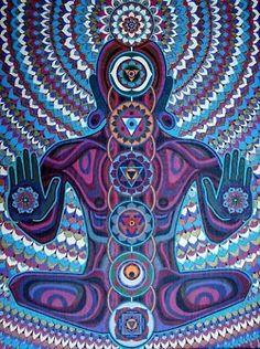 What a beautiful piece of chakras art!