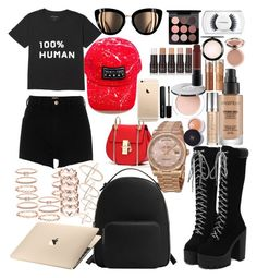 """Summer"" by madisonkiss on Polyvore featuring River Island, MANGO, Rolex, Accessorize, Smashbox, Urban Decay, PurMinerals, Chanel, MAC Cosmetics and Marc Jacobs"