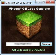 Minecraft gift code generator what do you think ?