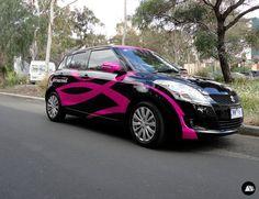 Fernwood, Vehicle Graphics, Suzuki Swift, Vehicle Decals