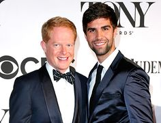 Congratulations to Jesse Tyler Ferguson and Justin Mikita on their marriage!