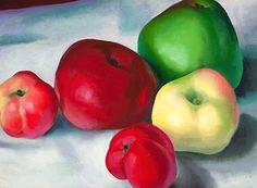 Georgia O'Keeffe (American, 1887–1986) Apple Family 3, 1921