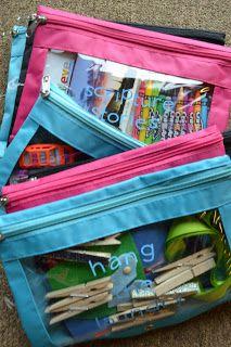 Sebastian Diaries: Busy Bag Extravaganza!