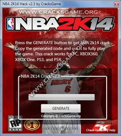 NBA 2K14 Game Crack - Cracksgame