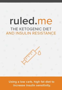 An interesting article on how you can reduce insulin resistance by using a ketogenic diet. Shared by http://www.ruled.me/