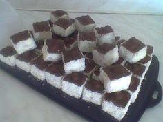 Hólabda recept alapján a mennyei hókocka! ;) - EZ SZUPER JÓ Cake Cookies, Food And Drink, Sweets, Candy, Chocolate, Cooking, Cukor, Diet, Food Food
