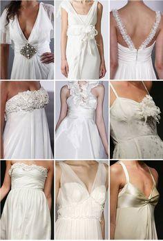Menyasszonyi ruhák nyárra
