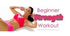 Header Beginner Strength Workout