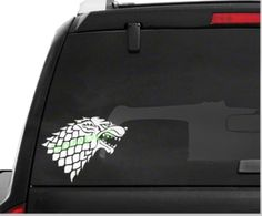 Game of Thrones House of Stark Car Decal High Quality Outdoor Vinyl - Whimsical Embroidery Designs