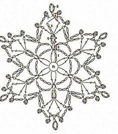 patrón estrella nieve