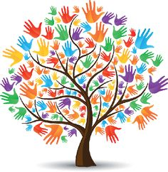 Tree Hands Colored | Clipart | The Arts | Image | PBS LearningMedia