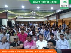 Naswiz Holidays organised a  Life Changing Business Seminar on 4 Dec 2014, Thursday @ 6:30pm. This was scheduled at Hotel Abhay Palace , Near Pushpanjali Hospital,Sec-1, Vaishali. Ghaziabad(U.P.). The Response was amazing and participation level was highest.