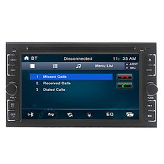 6.2 Inch 2 DIN Universal Car DVD Player with Radio,DVD,SD,USB,Bluetooth,ipod - EUR € 89.99
