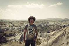 Sami Yaffa kallioilla