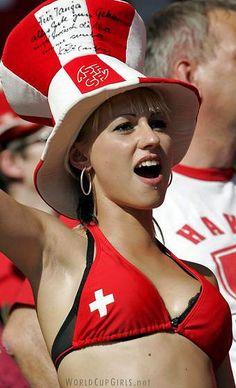 hot slender woman in switzerland