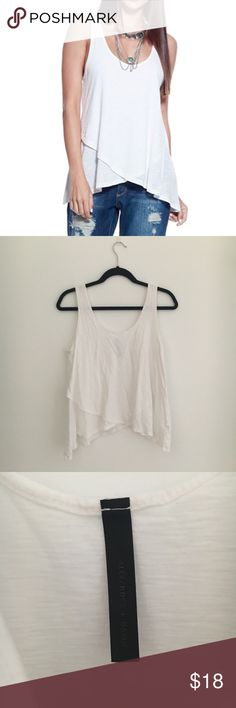 A+D Womens Casual Double Layer Trapeze Tank Top Bought from Amazon. Does run a bit shorter in length. Wrinkly but in great condition! No trades. Alexander + David Tops Tank Tops