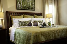 Here are the Green Bedroom Design Decor Ideas. This post about Green Bedroom Design Decor Ideas was posted under the Bedroom category by our team at July 2019 at pm. Hope you enjoy it and don't forget to . Green Bedroom Design, Bedroom Green, Tan Bedroom, Home Decor Bedroom, Bedroom Ideas, Master Bedroom, Bedroom Colors, Bedroom Photos, Ikea Bedroom